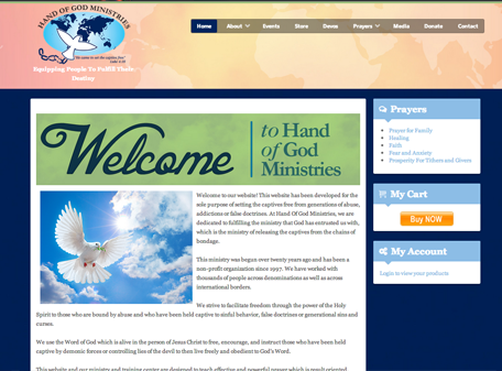 Hand of God Ministries